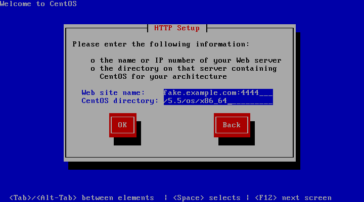CentOS network install behind a proxy « \1